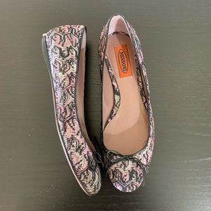 Missoni • Black & Pink Knit Ballet Flats Size 36